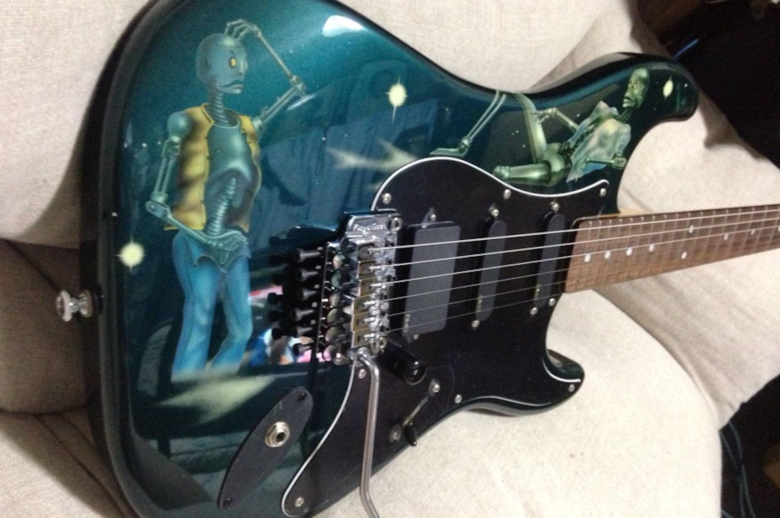 Steve Lukather Robot Guitar